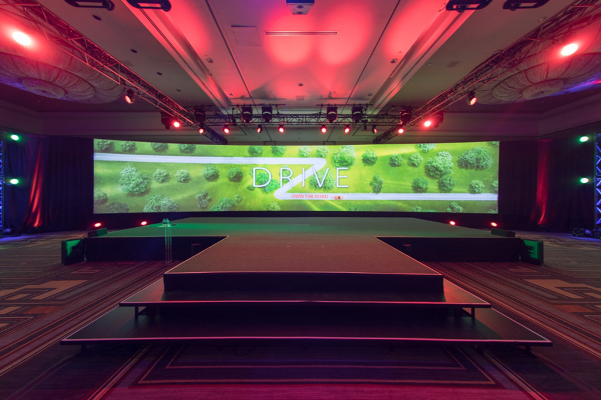 PineRock Events - Product Launch  with Large Format Screen