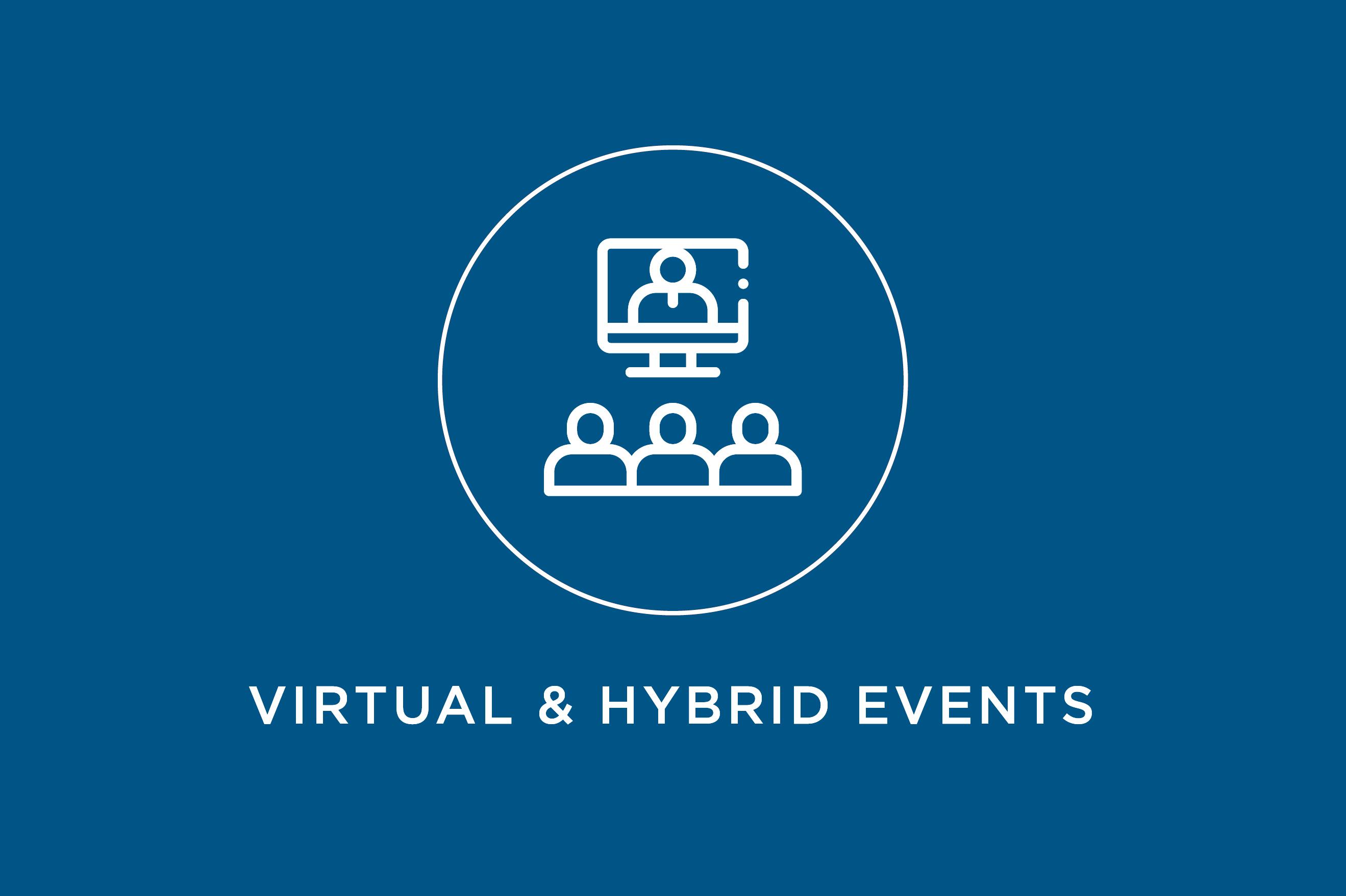 Digital Events Virtual Hybrid Events